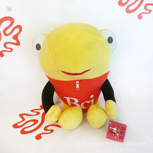 Plush Cartoon Frog Toy