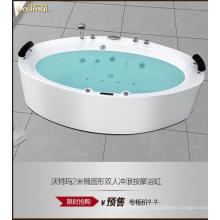 2000 Long Size Water Massage Acrylic Bathtub