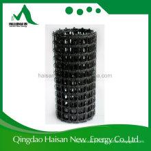Geogrelha de plástico de bi-direção para a China Geogrelha de estrada de cascalho