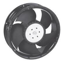 172mmx151mmx51mm Thermoplastisches Gehäuse und Laufräder DC17251 Axiallüfter