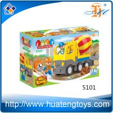 2016 nuevos juguetes plásticos del bloque hueco de la ingeniería del Pvc educativo