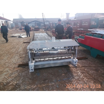 Roof color tile roll forming machine