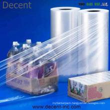 Protective Shrink Film PE Heat Shrink/LLDPE Shrink Film for Bottle/Beverage Packaging Wrapping