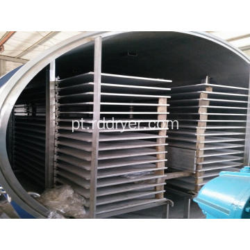 Blue Berry Microwave Vacuum Drying Machine / Sea Food Dryer