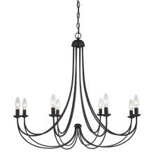 Éclairage de chandelier en fer avec design propre pour les styles de design à la maison (SL2501-8)
