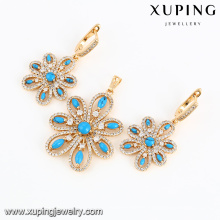 64006-Xuping Jewelry Fashion New Design 18K Gold Plated Set