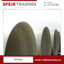 Glass Reinforced Polyester Pipes / GRP Fiberglass Pipes for Sale