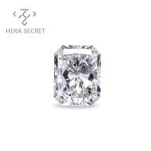 ForeverFlame G H Radiant Cut diamond CVD CZ Moissanite