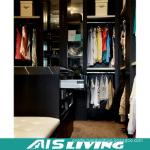 High Quality Black Colour Wardrobe Closet (AIS-W367)