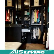Armário preto de alta qualidade do Wardrobe da cor (AIS-W367)