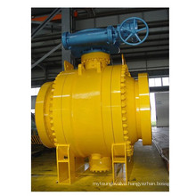 Class 1500 Forged Steel Trunnion Flanged Ball Valve
