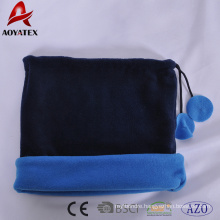 promotion Anti-pilling polar fleece beanies hats & neck