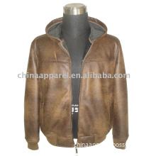 men' leather jacket
