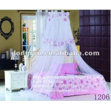 Gedruckte Spitze und hängende Bettvordächer für Mädchen