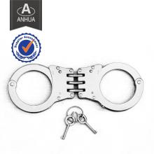 Hochwertige Polizei scharnierte Edelstahl Handschelle