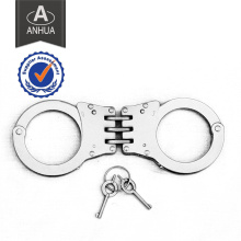 Polícia de alta qualidade articulada algema de aço inoxidável