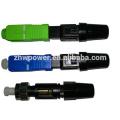 FTTH Faseroptik Schnellverbinder, SC / APC Schnellverbinder, SC / UPC Quick Field Montage Glasfaserverbinder