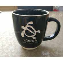 14oz Coffee Mug, Laser Engraved Ceramic Mug