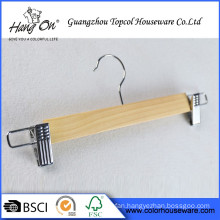 Manufacturer Provide Best Sell Luxury Wooden Hanger For Clothes