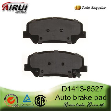 "D1413-8527 Front brake pad for 2010 Hyundai Genesis Coupe 17"" wheel"
