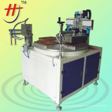 plastic\packing\metal plate\leather one color amazing HS-350P Precise Flat Surface Screen Printer with vacuum USD3477/pcs EXW.