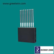 80W GSM Jammer для Тюремного Замка сигнала мобильного телефона (GW-J80)