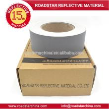 Cuero artificial reflexivo material PVC para calzado