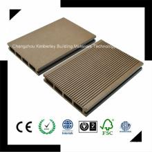 145 * 25 Пластичность высокого уровня PE Водонепроницаемая ламинированная древесина Пластиковый композитный настил