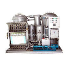 Marine Oil Water Separator Machine With Plunger Pump 0.25Kw