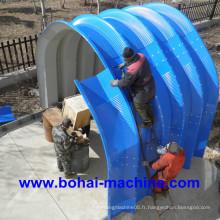 Bh1000-680 Machine de formage de rouleaux d'armoires Joint-Joint Arch