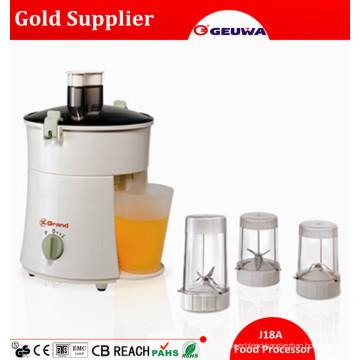 Quality 300W Copper Motor CE Electric Mini Juicer / Blender Food Processor J18A
