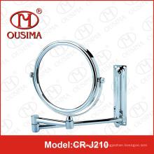 Miroir cosmétique à miroir cosmétique chromé miroir