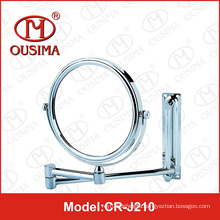 Chrome Wall Mount Cosmetic Mirror Makeup Mirror