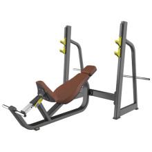 Equipo de entrenamiento comercial Olympic Incline Bench