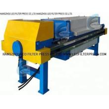 Prensa de filtro de cámara de prensa de filtro Leo, prensa de filtro de placa empotrada de cámara
