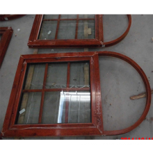 6mm double tempered glass horizontal window grill design powder coating arch window grill deign for church window