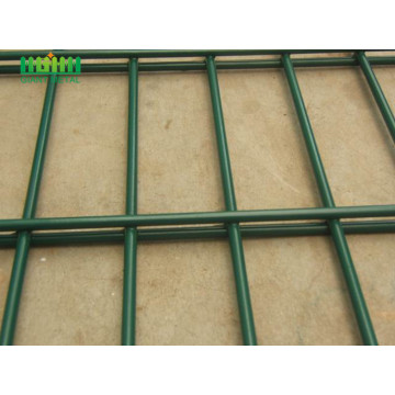 PVC bersalut Double Wire Mesh Horizontal