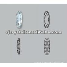 Pierres de cristal pour vêtements, pierres de fantaisie
