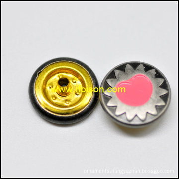 Enamel Snap Button Garment Accessories