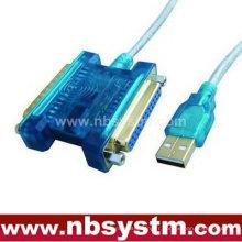 Câble USB à parallèle 25 broches + câble USB à série 25 broches
