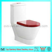 Foshan Sanitary Ware Toilet with Dual Flush Cistern Mechanism
