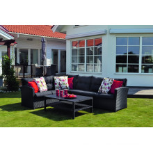 Patio Wicker Lounge Sofa Set Rattan Garden Outdoor Furniture