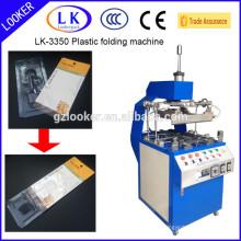 LK-3350 Guangzhou plastic tray edge folding machine