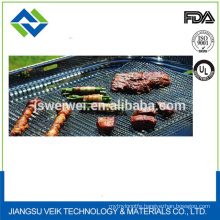 Reusable ptfe non-stick bbq cooking mat