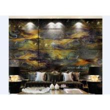 Unique Modern Decorative Glass Wall Art Panels Foe Living R