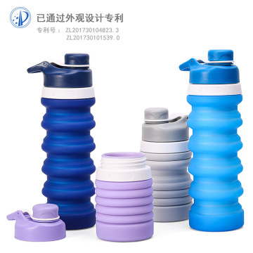 Outdoor+Camping+Food+Grade+Silicone+Water+bottles