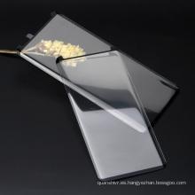 Precio de fábrica Premium anti azul claro inastillable 3D protector de pantalla de vidrio templado Película antihuellas para samsung s9