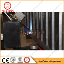 2016 High quality Automatic Corrugated Plate Welding Machine for trailer side wall robotic arm manipulator