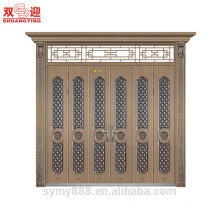 Elegant modern front security steel doors, pivot entry doors