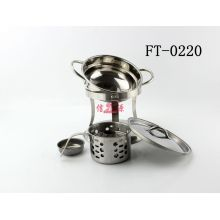 Stainless Steel Person Hot Pot Buffet Stove (FT-0220-XY)